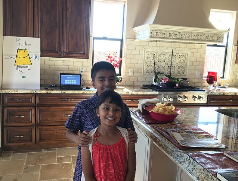 tavishi and yash s story cookies and books for pratham